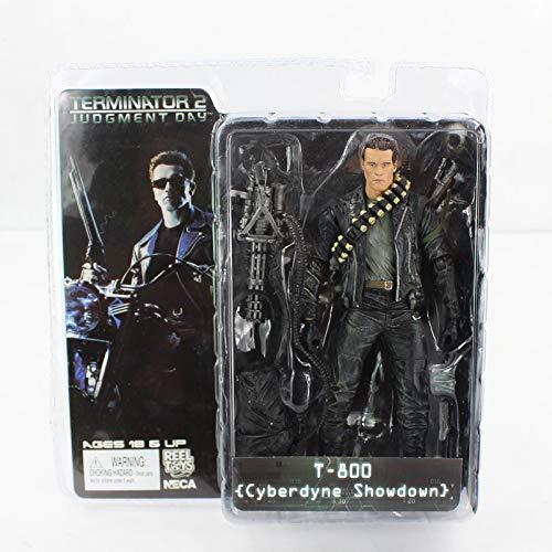 Reel Toys Figura de accion de Terminator tamaño 18cm muñeco Figure en PVC Modelo 3 de la colección película