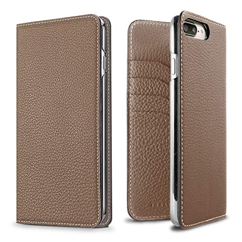 BONAVENTURA Diary Smartphone Case [Compatible with iPhone 12 Pro Max, Etoupe] BODT12PM-ET
