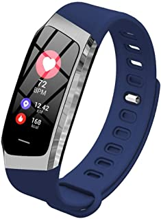 Reloj Deportivo Step Tracker de 0,96 Pulgadas Smart Band Calorie (Color: Azul)