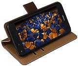 mumbi Tasche Bookstyle Case kompatibel mit Huawei Ascend P6