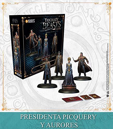 Knight Models Juego de Mesa - Miniaturas Resina Harry Potter Muñecos Game: President Picquery & Aurors Spanish: Amazon.es: Juguetes y juegos