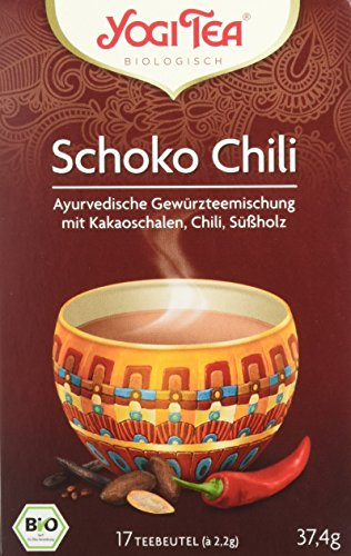 Yogi Tea Schoko Chili Bio, 3er Pack (3 x 37 g)