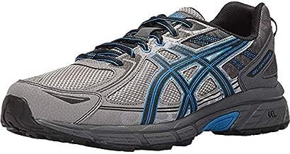 ASICS Men's Gel-Venture 6 Running Shoe, Aluminum/Black/Directoire Blue, 9 4E US