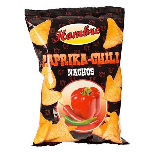 Hombre Nachos + Dip Mix (2x Nachos+3xDips) (2xChili-Paprika,Dip:Käse, Sour Creme, Salsa Hot)