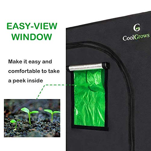 CoolGrows Small Grow Tent