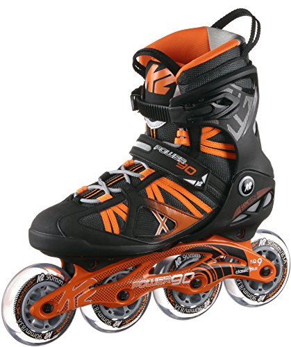 K2 Power 90 Fitness Skates schwarz 42.5