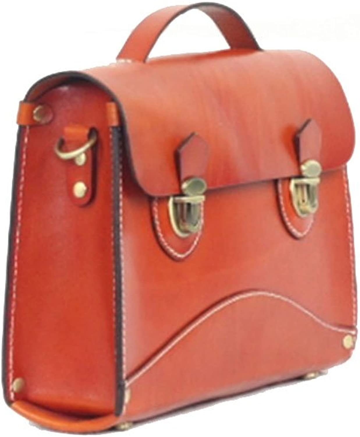 HIFISH HB100333 First Layer Of Leather OL Commuter Handbag,Box Commuter Bag