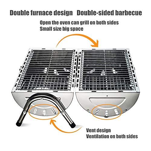 51mI B8mLRL. SL500  - WANZSC Tragbarer Grill für den Außenbereich, für Zuhause, Küche, Grillzubehör, Grill-Zubehör, Outdoor-Grill-Werkzeuge