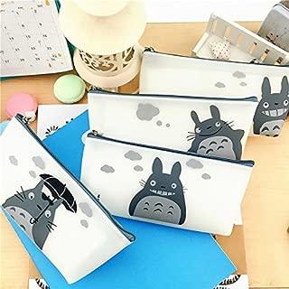 Totoro Pencil Case Silicone Waterproof Pencil Bag