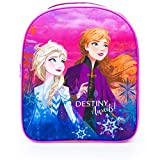 Characters Cartoons – Mochila infantil para guardería Bing LOL Surprise! Frozen Avengers Ladybug Spiderman Disney Marvel 44 gatos Rosa Frozen Fucsia