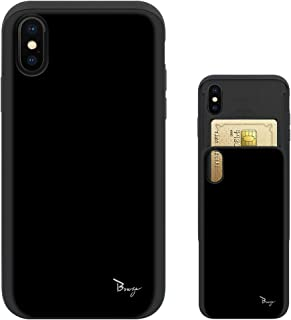 iPhone 11 Pro Max ケース アイフォン11 プロ マックス カバー iphone11promax TPU バンパー Bumper 耐衝撃 カード入れ マット加工 ワイヤレス充電対応 スマホケース 擦り傷防止 保護フィルム Breeze 3DP 正規品 [I11PMJP208BN]