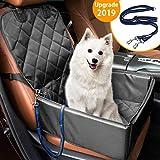 MATCC Hunde Autositz für Kleine Mittlere Hunde Rückbank & Vordersitz
