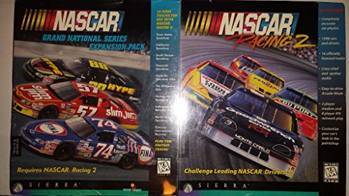 Lowest Price! Nascar Racing 2 and Expansion Pack