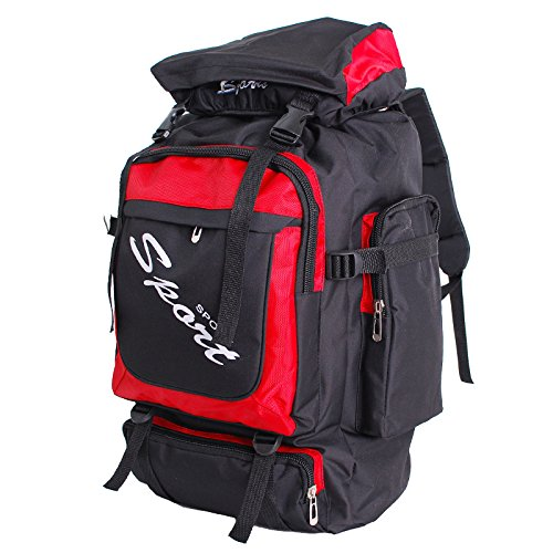 Moda nylon outdoor arrampicata sport uomini e donne spalla borse , red