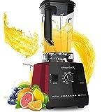Professionale Blender, 1000W Smoothie Blender con 62 Pitcher Oz BPA-Free, 50000 RPM ad alta velocità Blender con 6 strati del dente di sega in acciaio inox Lame for gelato, Frullato alla frutta, e caf