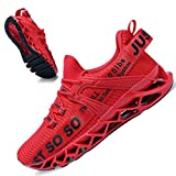 JSLEAP Men's Running Shoes Stylish Sneakers Mens Fashion Casual Walking Shoes Outdoor Sport Shoes