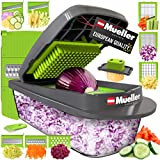 Mueller Austria Pro-Series 8 Blade Egg Slicer, Onion Mincer Chopper,...