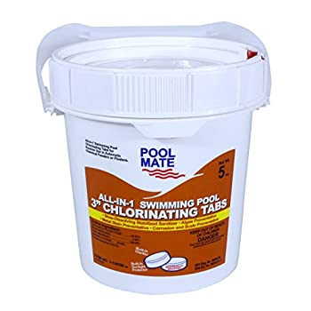Pool Mate 1-1405M All-in-1 Swimming Pool 3-Inch Chlorine Tabs 5-Pounds