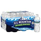 Ice Mountain Brand Natural Spring Water,16.9 Fl Oz (24 Pack)