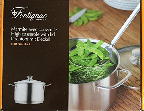 Fontignac Kollektion • Küchenutensilien • Kochen wie Top Chef (Kochtopf mit Deckel • 20 cm)