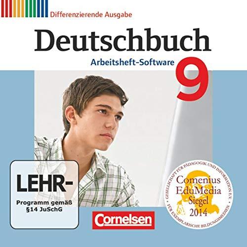 Deutschbuch - Sprach- und Lesebuch - Zu allen differenzierenden Ausgaben 2011 - 9. Schuljahr: Übungs-CD-ROM zum Arbeitsheft