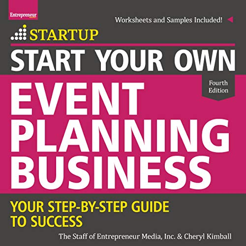 Start Your Own Event Planning Business audiobook cover art