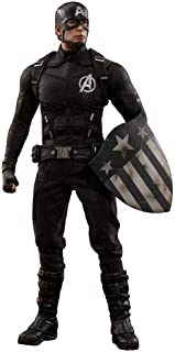 Hot Toys Captain America (Concept Art Version) Avengers Marvel Studios The First 10 Years 1/6 Scale Collectible Figure Chris Evans MMS488 2018 Toy Fair Exclusive Limited 500 worldwide