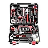 Juego de herramientas, maletín de herramientas universal para el hogar, con caja de almacenamiento engrosada para el hogar