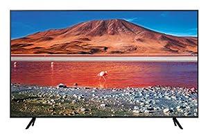 """immagine di Samsung TU7070 Smart TV 50"""", Crystal UHD 4K, Wi-Fi, 2020, Classe di Efficienza Energetica A, Nero"""