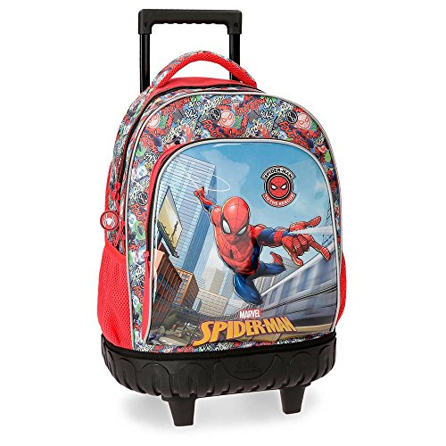 Marvel Grafiti Cartable, 43 cm, 28.9 liters, Multicolore (Multicolor)