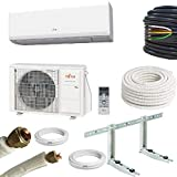 Ar condicionado Atlantic Fujitsu ASYG 12 KPCA - Kit 3 metros