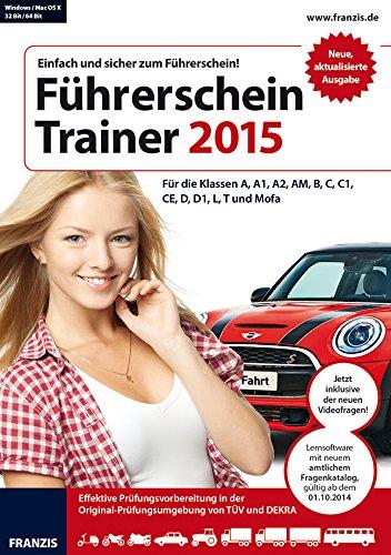 Franzis Führerschein Trainer 2015 [import allemand]