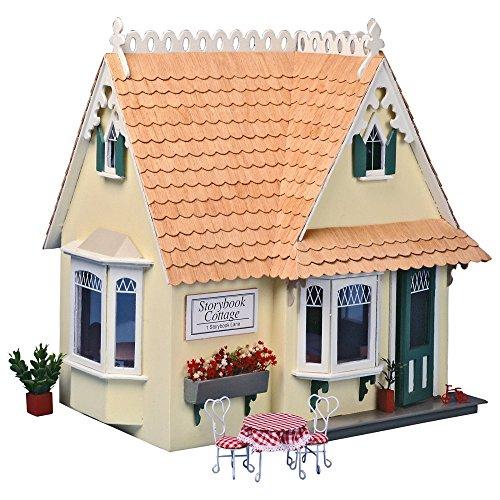 Greenleaf Storybook Cottage Dollhouse Kit - 1 Inch Scale