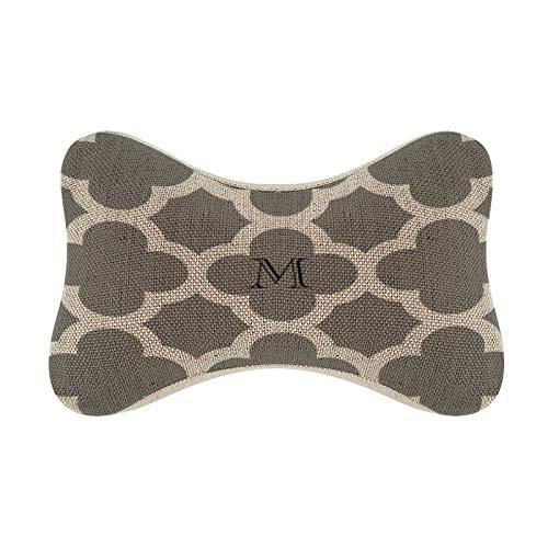 monogram headrest covers - 5