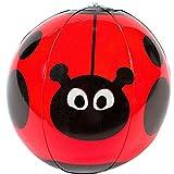 German-Trendseller® - Wasserball Marienkäfer ┃ Mit Punkten ┃ Pool ┃ Pool Party ┃ Der Ideale Wasserball für kleine Wasserratten ✔