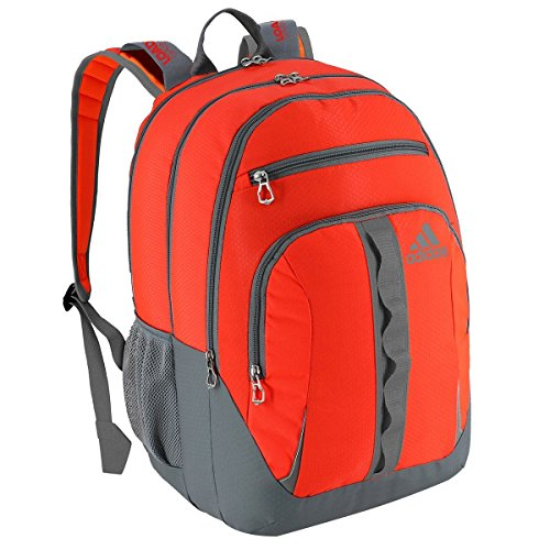 adidas Prime Backpack, Solar Red/Solar Orange/Grey, One Size