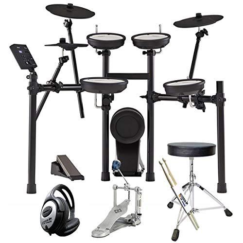 Roland TD-07KV E-Drum V-Drums Schlagzeug Set + keepdrum Zubehör Set