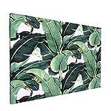 Olverz Pintura de hojas de plátano Martinica de 30,48 x 45,72 cm, impresiones de arte clásicas, reproducciones de arte moderno marco de fotos pinturas para sala de estar, oficina, hogar