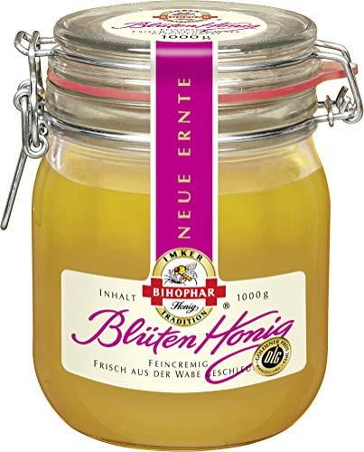 BIHOPHAR Blüten Honig feincremig zart duftig aromatisch 1000g