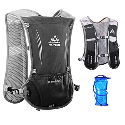 AONIJIE Running Backpack Women Running Hydration Backpack for Men Lightweight Hydration Pack Running...