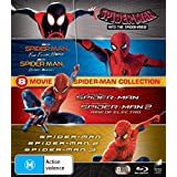 Spider-man - 8 MOVIE PACK Collection Box Set Blu-ray Into The Spider-Verse Far From Home Homecoming Amazing Spider-man 1 & 2 Spider-man 1 2 & 3