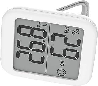 Cabilock Inomhus digital termometer hygrometer, exakt rumstemperatur mätare fuktighetsmätare med väckarklocka – lätt att l...