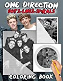 One Direction Dots Lines Spirals Coloring Book: Great gift for girls and teens who love One Direction with spiroglyphics coloring books