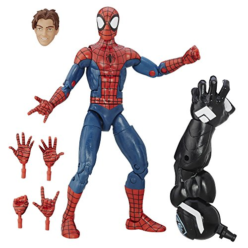 Spider-Man Marvel Venom Build-a-Figure Legends Series Peter Parker 15,2 cm Figurine