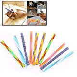 <span class='highlight'><span class='highlight'>MOGOI</span></span> Cat Stick Toy,10 Pcs Retractable Funny Cat Stick Cat Teaser Wand, Kitten Cat Colorful Fun Spring Tubes Pet Action Interactive Toys