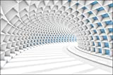 Muralo 667014562 - Papel Pintado 3D túnel de Vinilo Decorativo Decorativo