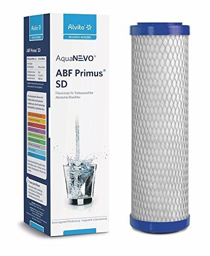 Alvito ABF Primus SD Wasserfilter, Aktivkohlefilter, Weiß, normal