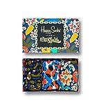 Photo de Happy Socks, édition limitée, paquet de 3 boîtes-cadeaux Wiz Khalifa, taille 41-46