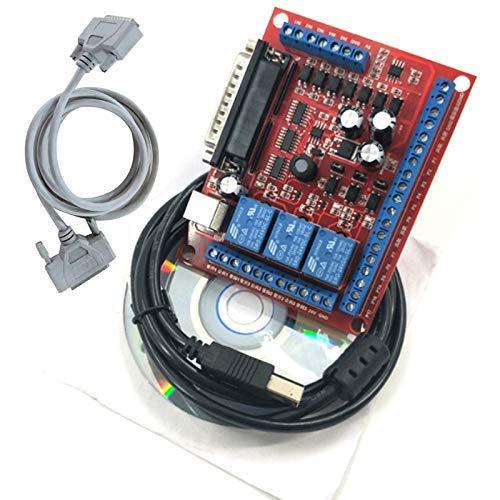 Nologo YO-TOKU DIY CNC 6 Axis MACH3 Engraving Machine Interface Board CNC 6 Axis Interface Board Modules CE