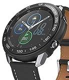 Ringke Air Sports + Bezel Styling Combo Compatibile con Cover Samsung Galaxy Watch 3 45mm, Custodia Antiurto TPU e Ghiera Anti Graffio - 10-Black Nero